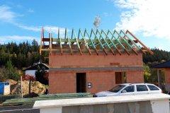 Střecha novostavby - Sedlec