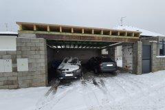 Střecha garáže - Kyšice