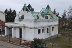 Střecha novostavby - Radčice