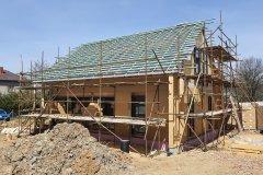 Střecha dřevostavby - Letkov
