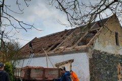 Rekonstrukce střechy - Skašov