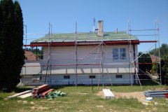 Rekonstrukce střechy - Ledce