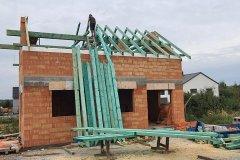 Střecha novostavby - Dobřany