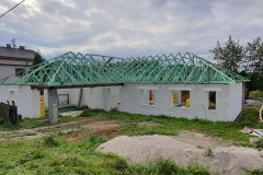 Střecha novostavby - Plasy