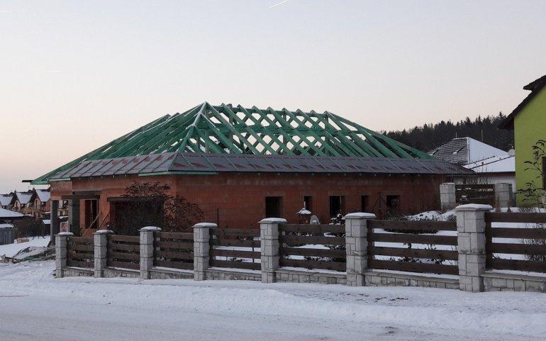 Krov rodinného domu