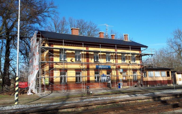 Rekonstrukce střechy nádraží - Naturmont