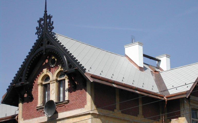 Realizace střech Naturmont
