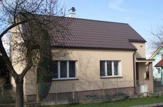 Renovace fasády Zruč-Senec