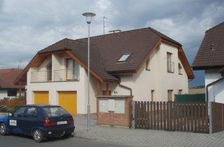 Rodinný dům Plzeň - nová fasáda