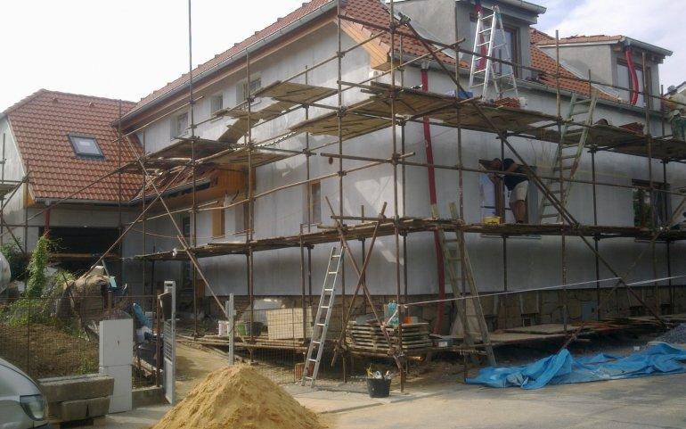 Fasádá v Plzni