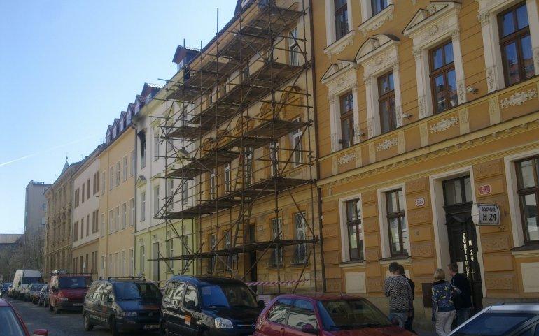 Oprava fasády Plzeň