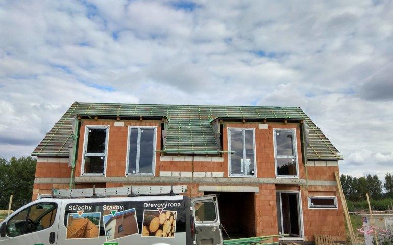 Dodávka a montáž střechy - Naturmont