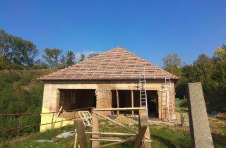 Střecha na domě - Plzeň