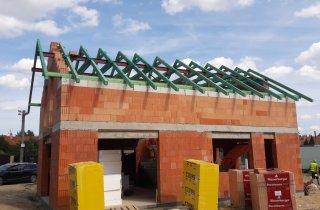 Montáž krovu - střechy Plzeň