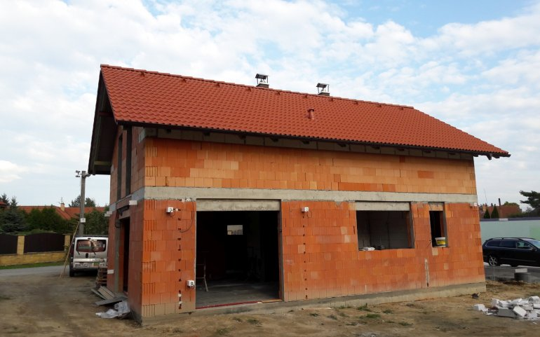 Střecha Bramac - Moravská taška Plus
