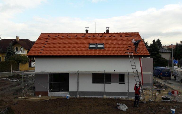 Střecha novostavby - střechy Plzeň