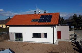 Nová střecha na rodinném domě