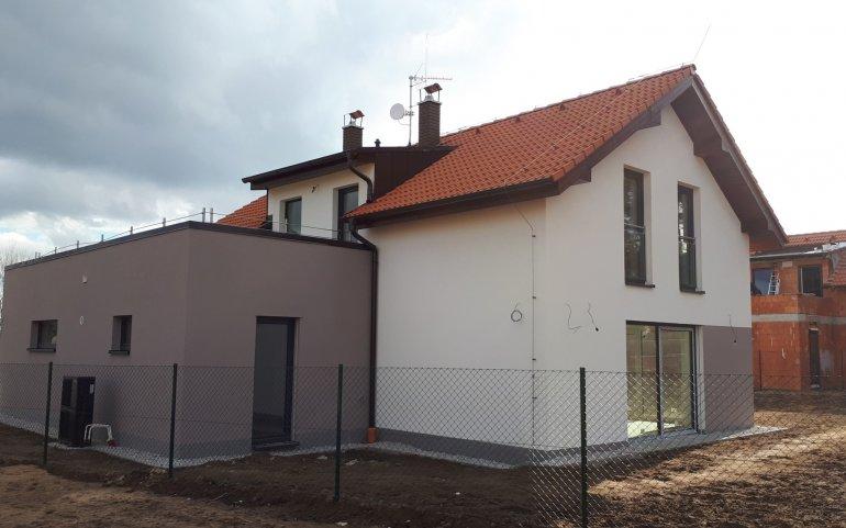 Střecha rodinného domu Zruč
