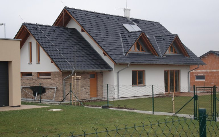 Střecha rodinného domu - Radobyčice