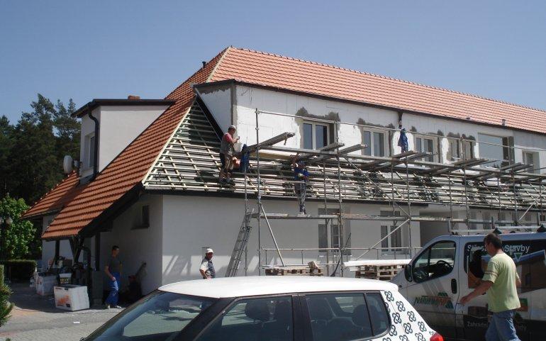 Rekonstrukce střechy administrativní budovy