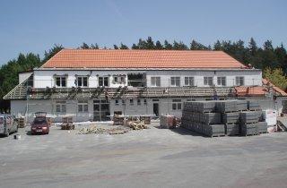 Rekonstrukce střechy v Rybnici