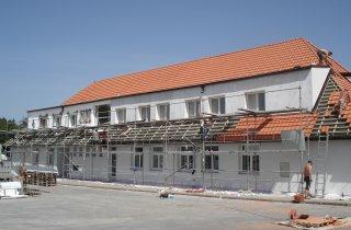 Rekonstrukce střechy - Rybnice