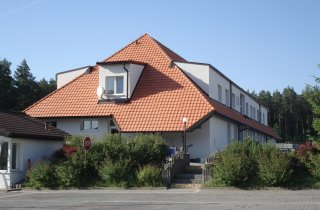Boční pohled na střechu
