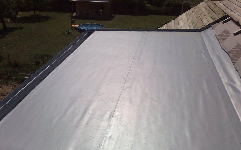 Pultová střecha-Dolní Vlkýš