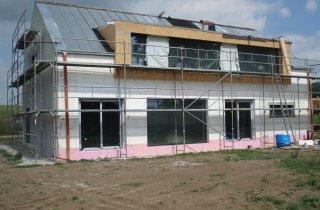 Dodávka a montáž střechy - Dolní Vlkýš