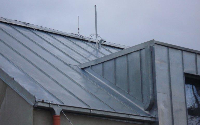 Falcovaná krytina-střechy Naturmont