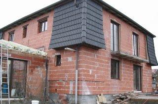 Střecha rodinného domu - Vejprnice