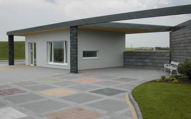Vzorový dům - střecha