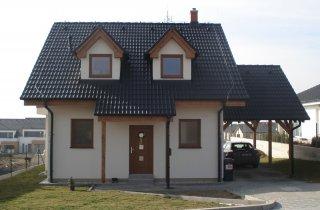 Rodinný dům Losiná - střecha