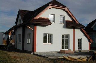 Střechy rodinných domů-Plzeň-Bručná