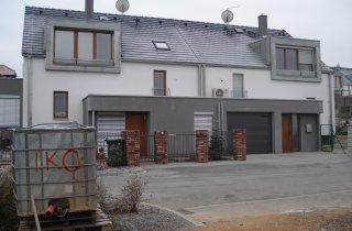 Střecha rodinného dvojdomu - Plzeň