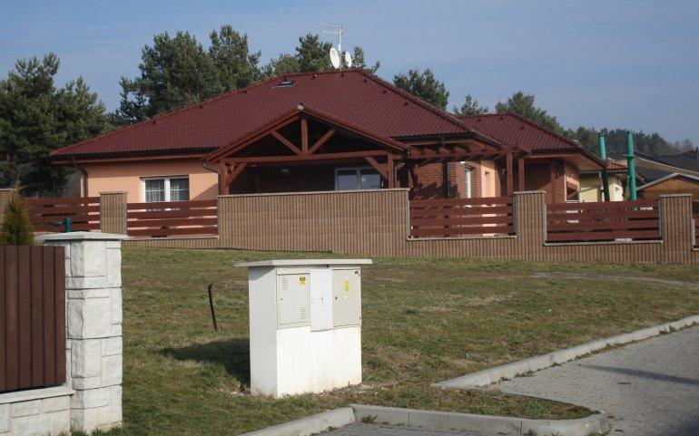 Střecha rodinného domu Losiná