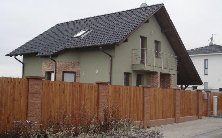 Střecha rodinný dům - Černice