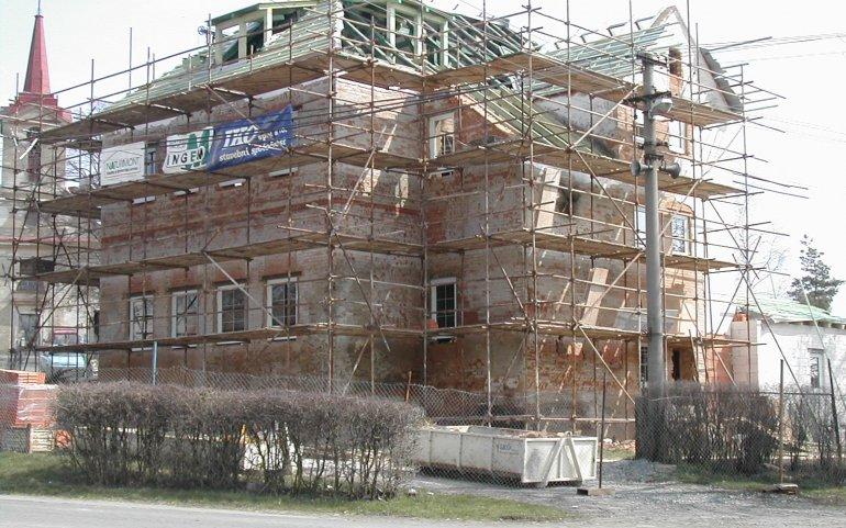 Montáž nového krovu Naturmont