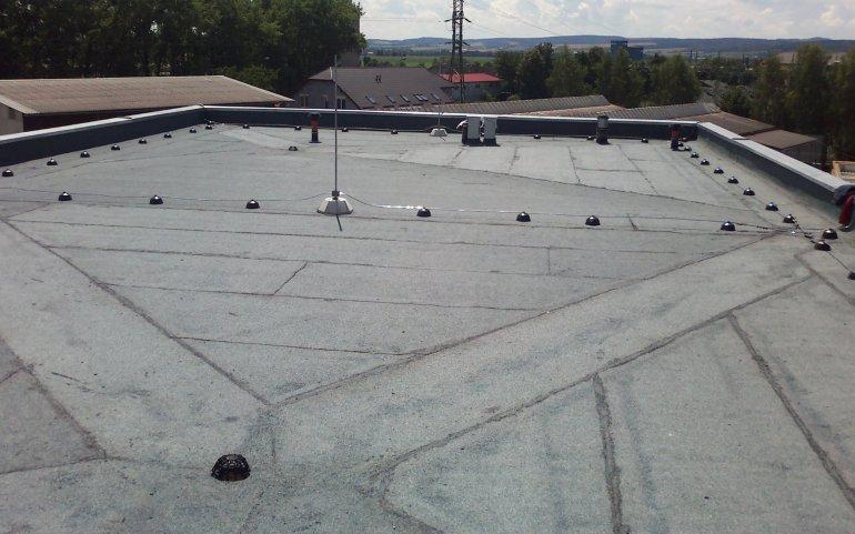 Asfaltová střecha Mohelnice