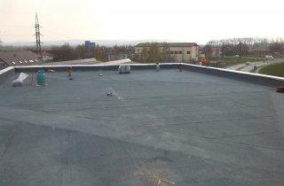 Montáž asfaltové střechy v Mohelnici