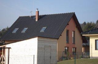 Střecha v Losiné