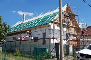 Zalaťovaná střecha