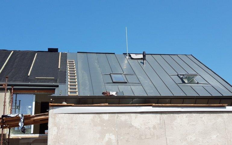 Střechy Naturmont - falcovaná krytina