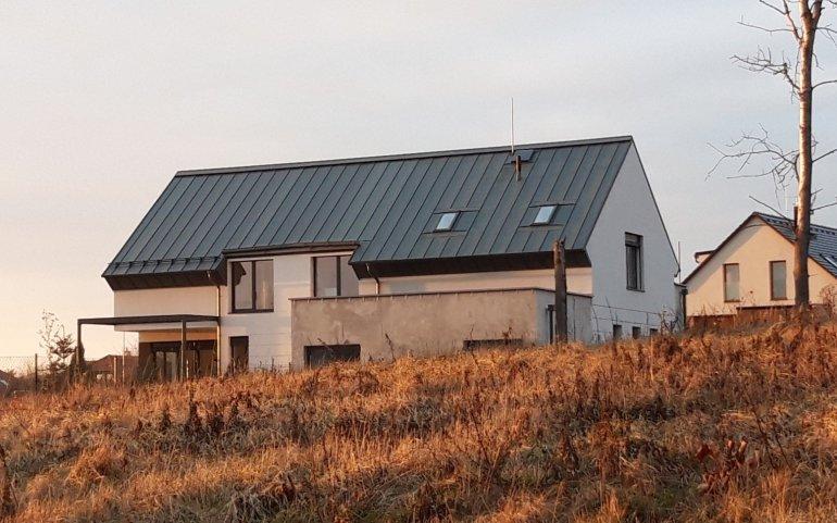 Střecha novostavby
