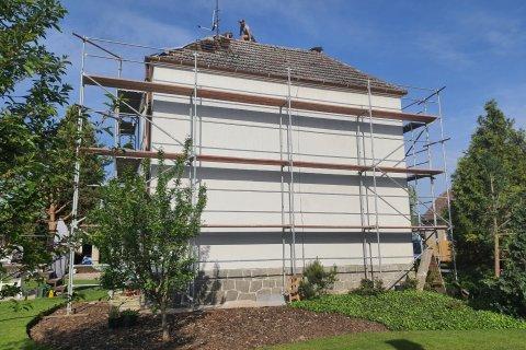 Rekonstrukce střechy - Šťáhlavy