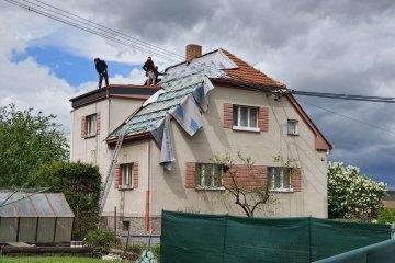 Rekonstrukce střechy - Nezvěstice