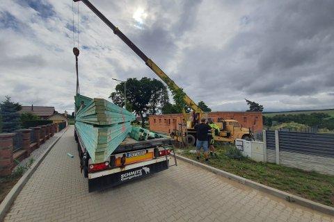 Střecha novostavby - Hradec u Stoda