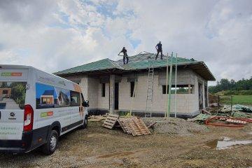 Střecha novostavby - Cheznovice