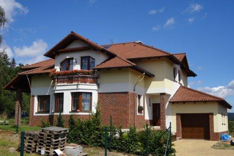 Střecha rodinného domu - Dobříš