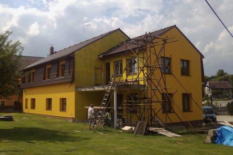 Střecha domu - Pňovice